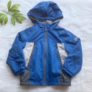 Oshkosh bgosh blue jacket, size 4T